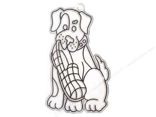 Kelly's Suncatcher Bulk Puppy With Slipper 2.75 x 4.5 in. (3 pieces)