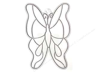 Kelly's Suncatcher Bulk Butterfly Large 3 x 4 3/8 in. (3 pieces)