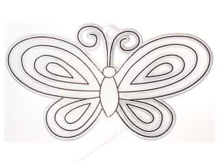 Suction Cups $5 - $10: Kelly's Suncatcher Bulk Butterfly Small 4.75 x 2.5 in. (3 pieces)