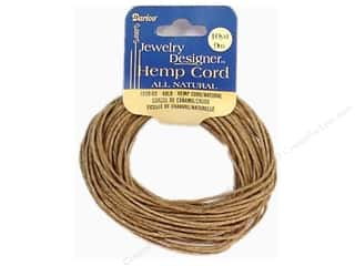 Darice Jewelry Designer Cord Hemp 48# Natural 10yd