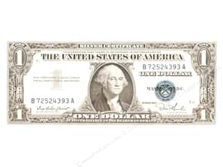 Note Cards & Envelopes: Paper House Diecut Card U.S. Dollar Bill