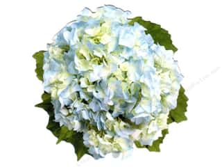 "Cards & Envelopes  5"" x 5"": Paper House Diecut Card Hydrangea"