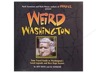 Sterling Books Weird Washington Book