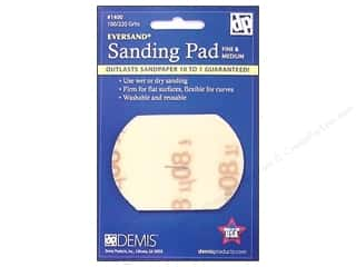 Sand $1 - $2: Eversand Carded Sanding Pads Small 100/220 Fine to Medium