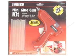 Glues Adhesives & Tapes: Surebonder Glue Gun Dual Temp Mini Kit