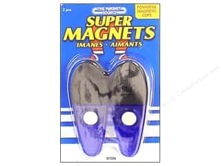 The Magnet Source Magnetic Clip Large Blue 2 pc