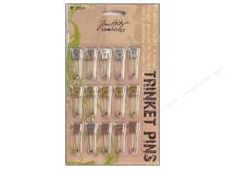 Tim Holtz Idea-ology Trinket Pins 15 pc
