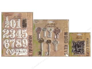 chipboard tags: Tim Holtz Idea-ology