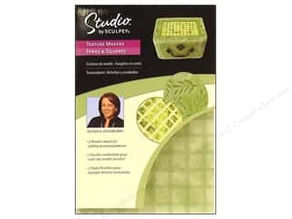 Sculpey Studio Texture Maker Ferns &amp; Squares