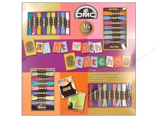Weekly Specials Crate Paper: DMC Emb Floss Packs Say It With Stitches 36 pc