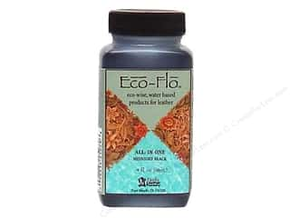 Leather Factory Eco Flo 4oz Midnight Black