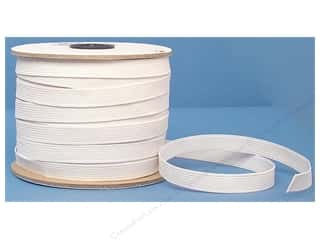 Elastic $1 - $2: Conrad Jarvis Braided Flat Elastic 1/2 in x 60 yd White (60 yards)