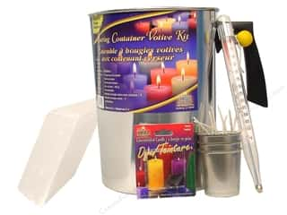Candlemaking Molds: Yaley Kits Pouring Container Votive Starter
