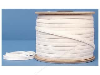 "CJ Des Choice Elastic Knit Reel 1/4"" White 100yd (100 yards)"