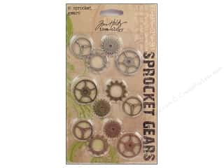 Ornaments Tim Holtz Idea-ology: Tim Holtz Idea-ology Sprocket Gears