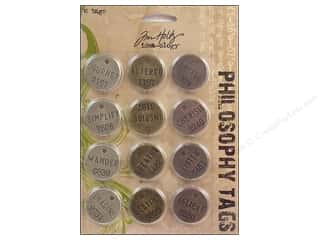 Tim Holtz Idea-ology Philosophy Tags