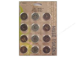 Tim Holtz Idea-ology Muse Tokens