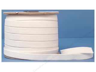 Conrad Jarvis Knit Elastic 1/2 in x 50 yd White (50 yards)
