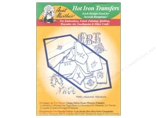 Aunt Martha's Hot Iron Transfer Green Three Alpha