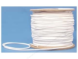 CJ Des Choice Elastic Rnd Cord Reel 1/8&quot; Wht 120yd (120 yards)
