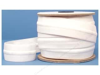 Sewing & Quilting Drawing: Conrad Jarvis Draw Cord Elastic Reel 1 1/4 in x 12 yd White (12 yards)