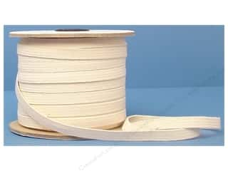 Clearance Blumenthal Favorite Findings: Conrad Jarvis Cotton Swim Elastic 3/8in x 70yd Natural (70 yards)