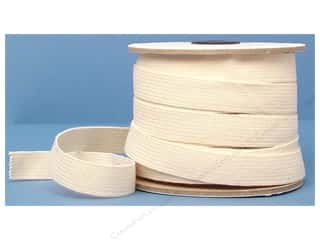 Conrad Jarvis Cotton Swim Elastic 3/4in x 30yd Natural (30 yards)