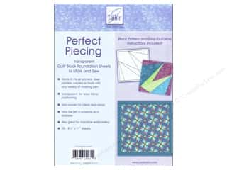 June Tailor Foundation Sheet Perfect Piecing 25pc