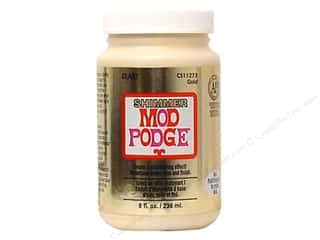 Plaid Mod Podge Shimmer Metallic Gold 8 oz
