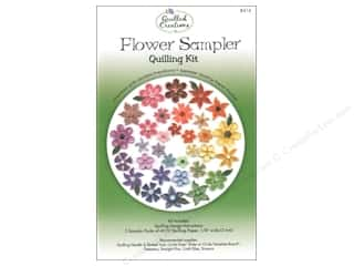 Projects & Kits: Quilled Creations Quilling Kit Flower Sampler