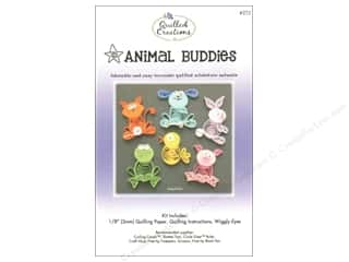 Quilling Animals: Quilled Creations Quilling Kit Animal Buddies