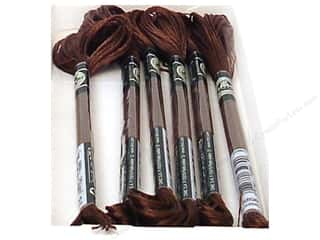 DMC Satin Embroidery Floss Shadow Brown (6 skeins)