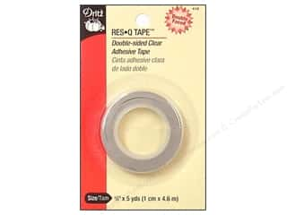 Dritz Tape Res Q Tape Double Sided Clear 3/8&quot;x5yd