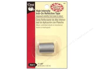 Dritz Iron On Reflective Tape High Intensity Grey
