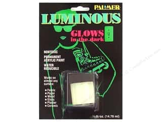 Palmer Acrylic Fabric Paint 1/2oz Jar Luminous