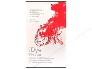Fabric Painting & Dying Jacquard iDye Natural Fabrics: Jacquard iDye Natural Fabrics Fire Red 14 grams