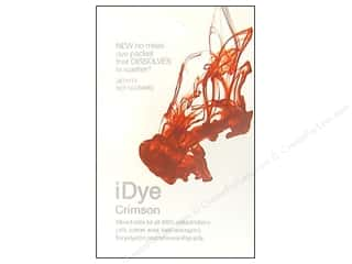 Fabric Painting & Dying Jacquard iDye Natural Fabrics: Jacquard iDye Natural Fabrics Crimson 14 grams