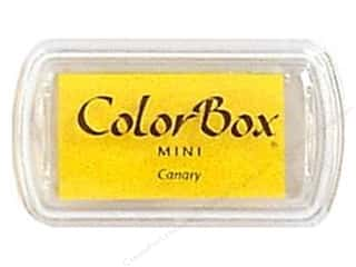 Stamping Ink Pads 2 1/2 in: ColorBox Pigment Inkpad Mini Canary