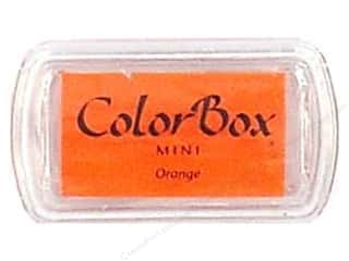 Stamping Ink Pads 2 1/2 in: ColorBox Pigment Inkpad Mini Orange