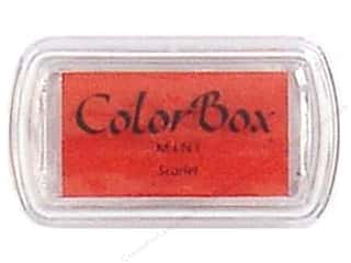 ColorBox Pigment Ink Pad Mini Scarlet
