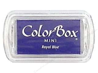 Stamping Ink Pads 2 1/2 in: ColorBox Pigment Inkpad Mini Royal Blue