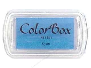 Stamping Ink Pads 2 1/2 in: ColorBox Pigment Inkpad Mini Cyan