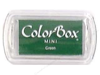 Stamping Ink Pads 2 1/2 in: ColorBox Pigment Inkpad Mini Green