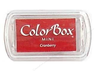 Stamping Ink Pads 2 1/2 in: ColorBox Pigment Inkpad Mini Cranberry