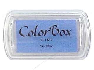 ColorBox 2 1/2 in: ColorBox Pigment Inkpad Mini Sky Blue