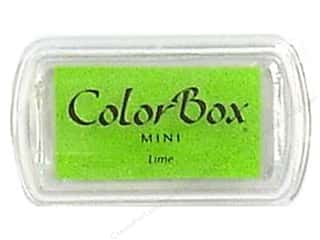 ColorBox 2 1/2 in: ColorBox Pigment Inkpad Mini Lime