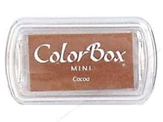 Stamping Ink Pads 2 1/2 in: ColorBox Pigment Inkpad Mini Cocoa