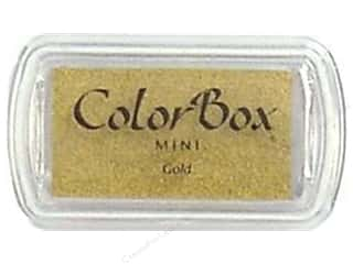 Stamping Ink Pads 2 1/2 in: ColorBox Pigment Inkpad Mini Gold
