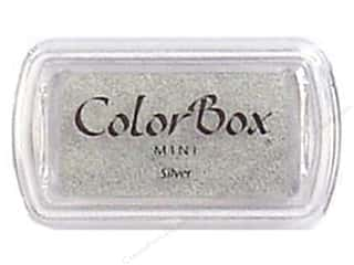 Stamping Ink Pads 2 1/2 in: ColorBox Pigment Inkpad Mini Silver