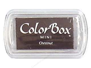 Stamping Ink Pads 2 1/2 in: ColorBox Pigment Inkpad Mini Chestnut